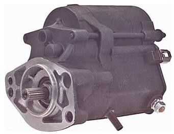 High Efficiency Harley Davidson Starter Motor 128000 - 5750 OEM 17617